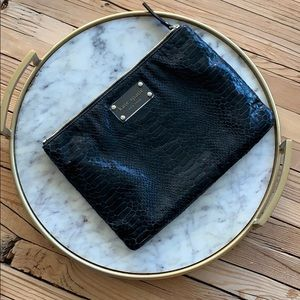 Kate ♠️ spade pouch snake 🐍 skin texture awesome